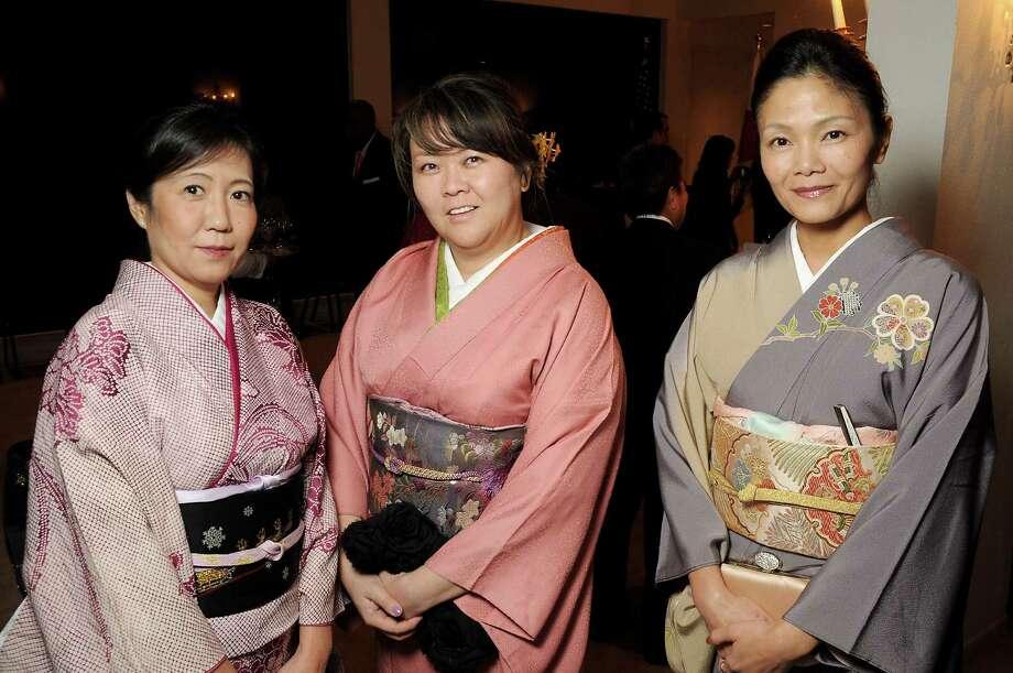 From left: Rumiko Iwasaki, Maya Basinger and Runi Kudo  Photo: Dave Rossman, For The Chronicle / Freelalnce