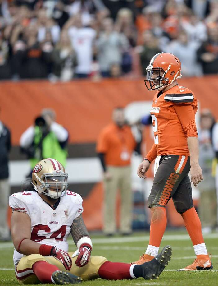 A 24-10 loss in Cleveland was among the 49ers' road lowlights in 2015. Photo: David Richard, Associated Press