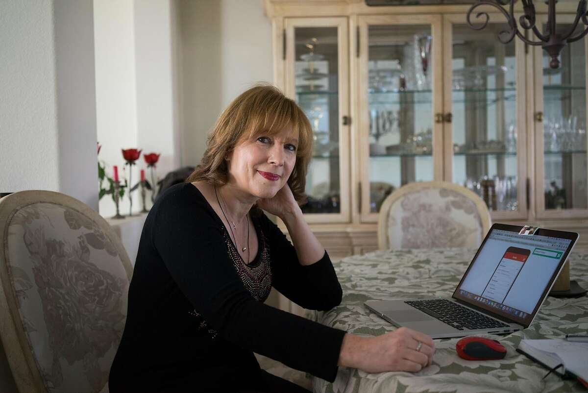Tatyana Kanzaveli poses for a portrait at her home in San Jose, Calif. on Wednesday, Dec. 16, 2015. Kanzaveli created a platform called Open Health Network which allows people to create mobile health applications that run on any device.