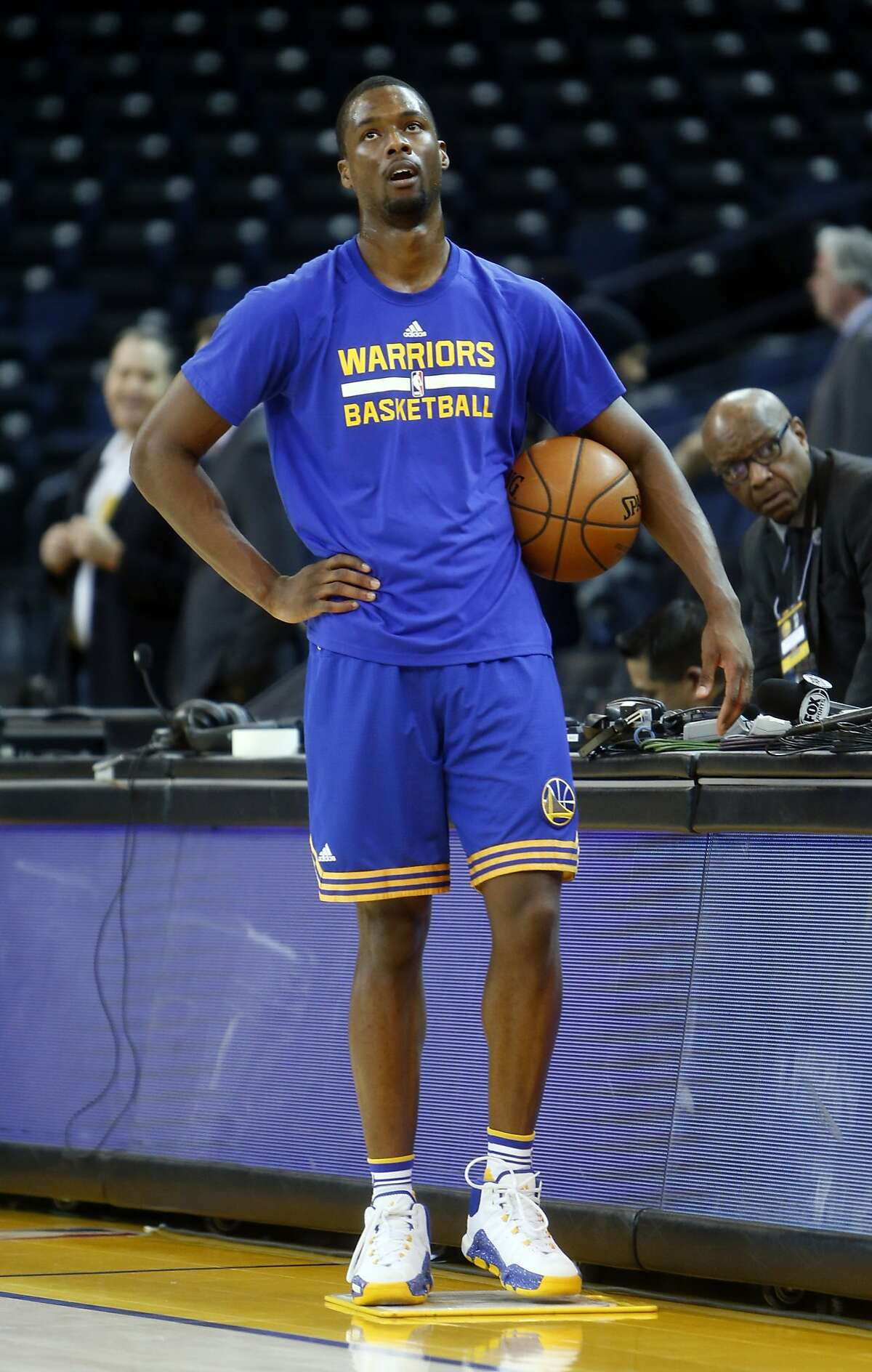Harrison Barnes might return soon to the lineup.