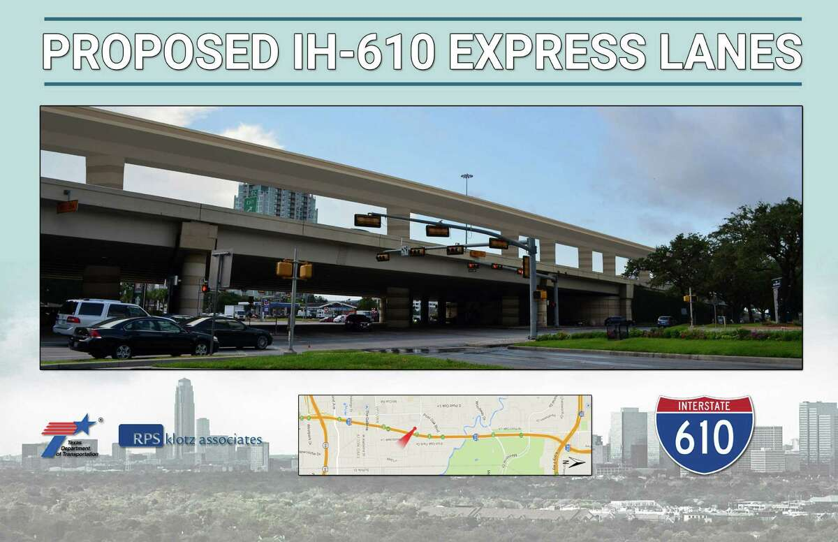 At Loop 610 and San Felipe, the elevated lanes will more than double to overall height of the roadway, but planenrs say also reduce traffic on the freeway by 10 percent.