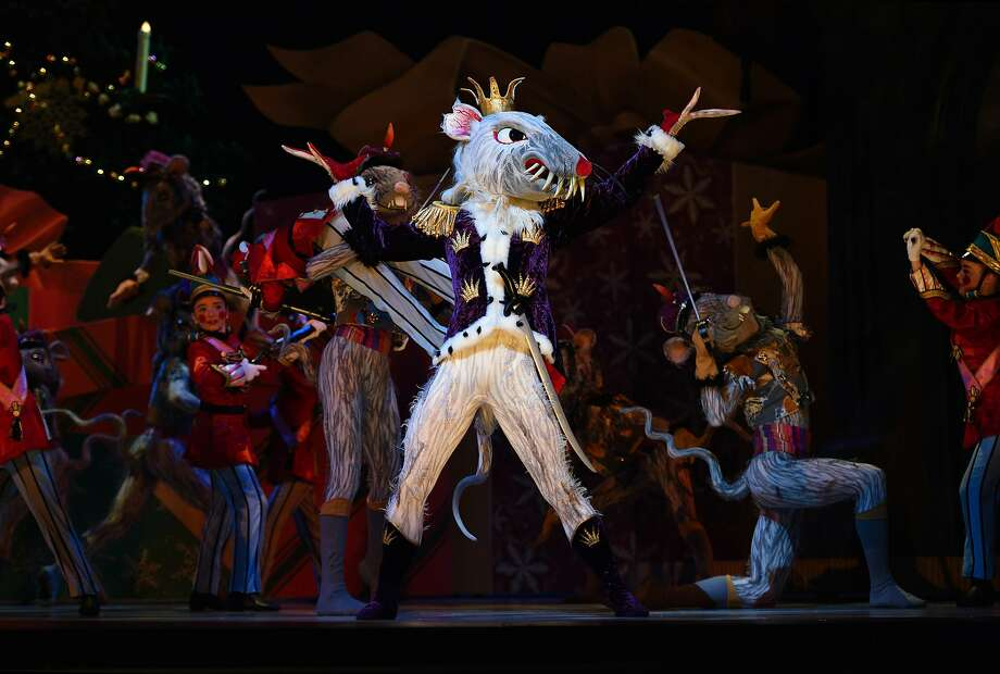 """The battle with the rodents in the 2015 edition of """"Nutcracker"""" continues to entertain. Photo: Erik Tomasson"""