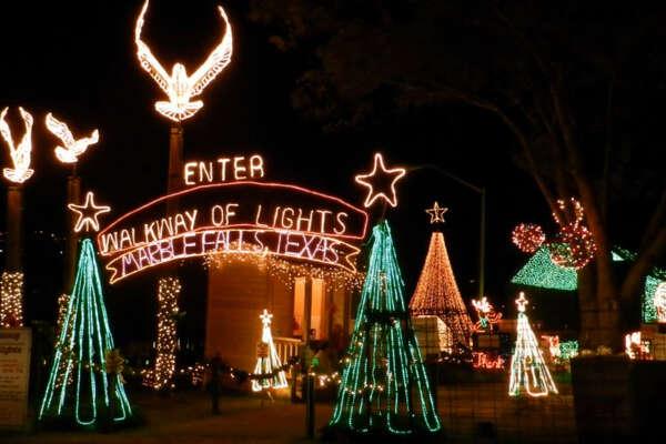 Marble Falls Christmas Lights.Texas Best Christmas Light Displays Houstonchronicle Com