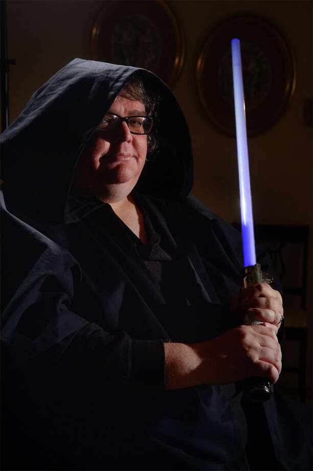 Founder of the Temple Of The Jedi Order: First International Church Of Jediism, John Henry Phelan of Beaumont says he successfully applied for a 501(c)3 recognition of the church.   Photo taken Monday, December 08, 2015  Guiseppe Barranco/The Enterprise Photo: Guiseppe Barranco, Photo Editor
