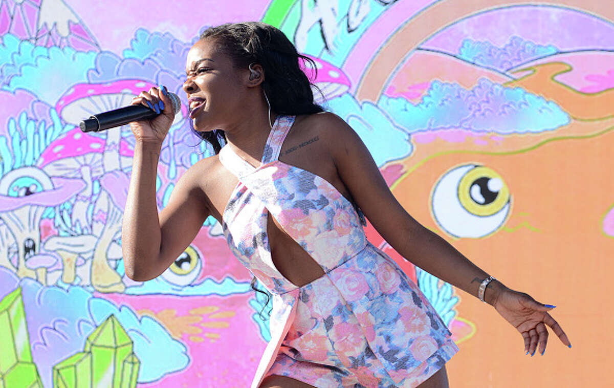 """Azealia Banks, known for the single, """"212,"""" was arrested Dec. 16, 2015, for allegedly assaulting a security guard in Manhattan."""