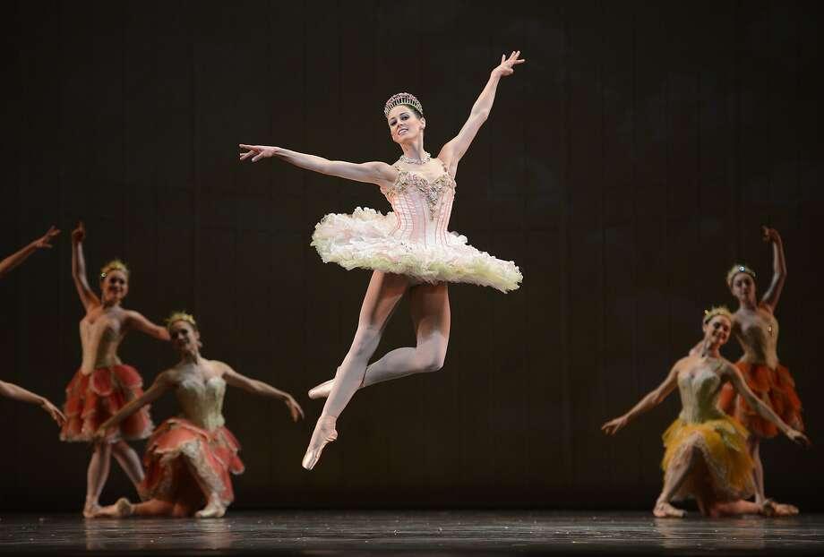 "Vanessa Zahorian in San Francisco Ballet's ""Nutcracker."" Photo: Erik Tomasson"