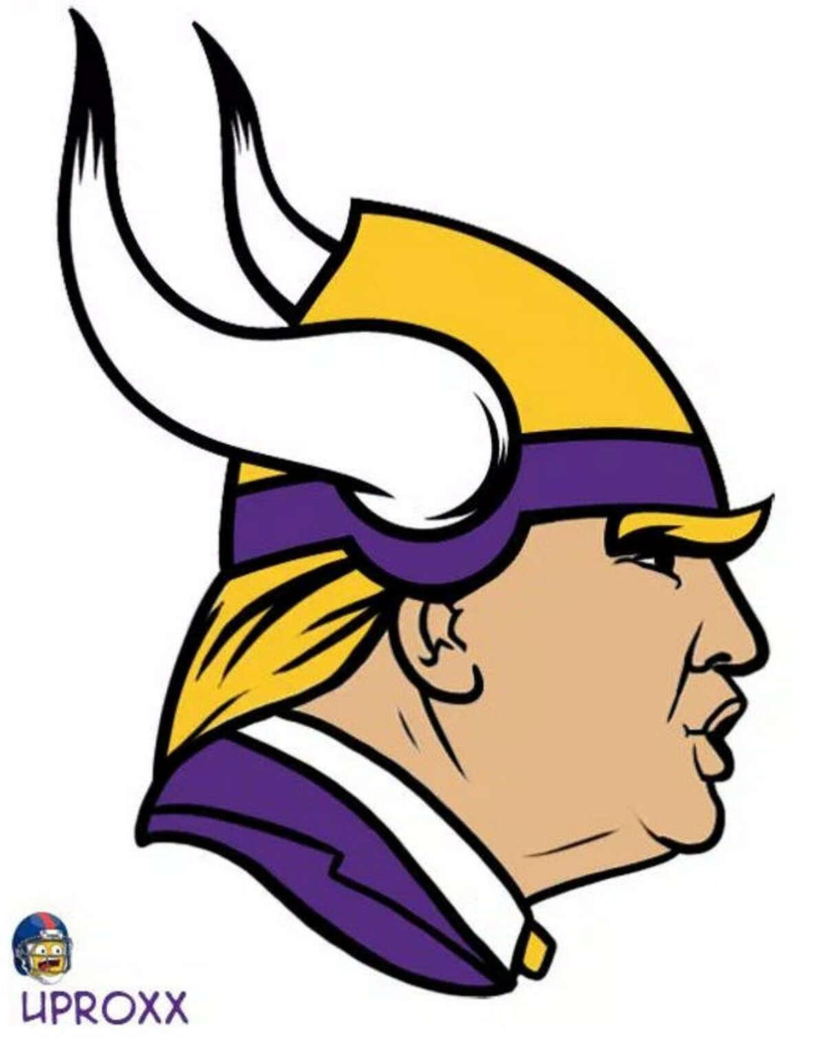Minnesota Vikings asDonaldTrump