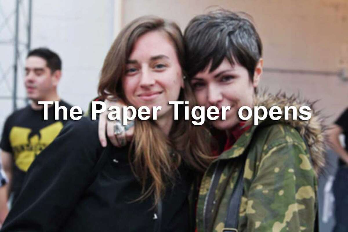 See who came out to the opening night of Paper Tiger, the venue formerly known as the White Rabbit.