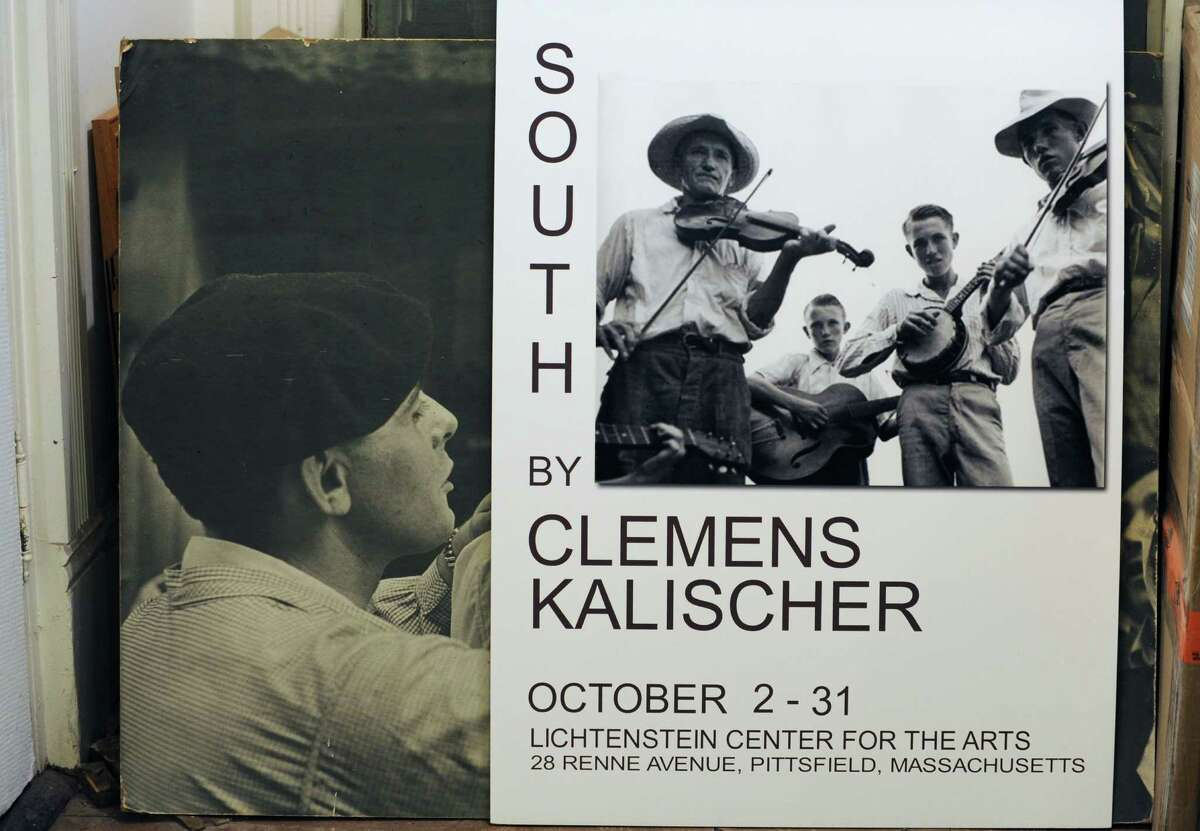 Poster prints are seen in Image Gallery where internationally known photojournalist and photographer Clemens Kalischer displays his art on Friday, Nov. 13, 2015 in Stockbridge, M.A. Kalischer, 94, escaped Nazi Germany, studied arts at Cooper Union and became a photographer who collaborated with Norman Rockwell, Edward Steichen and his work is in the Library of Congress, MOMA, the Brooklyn Museum and others. (Lori Van Buren / Times Union)