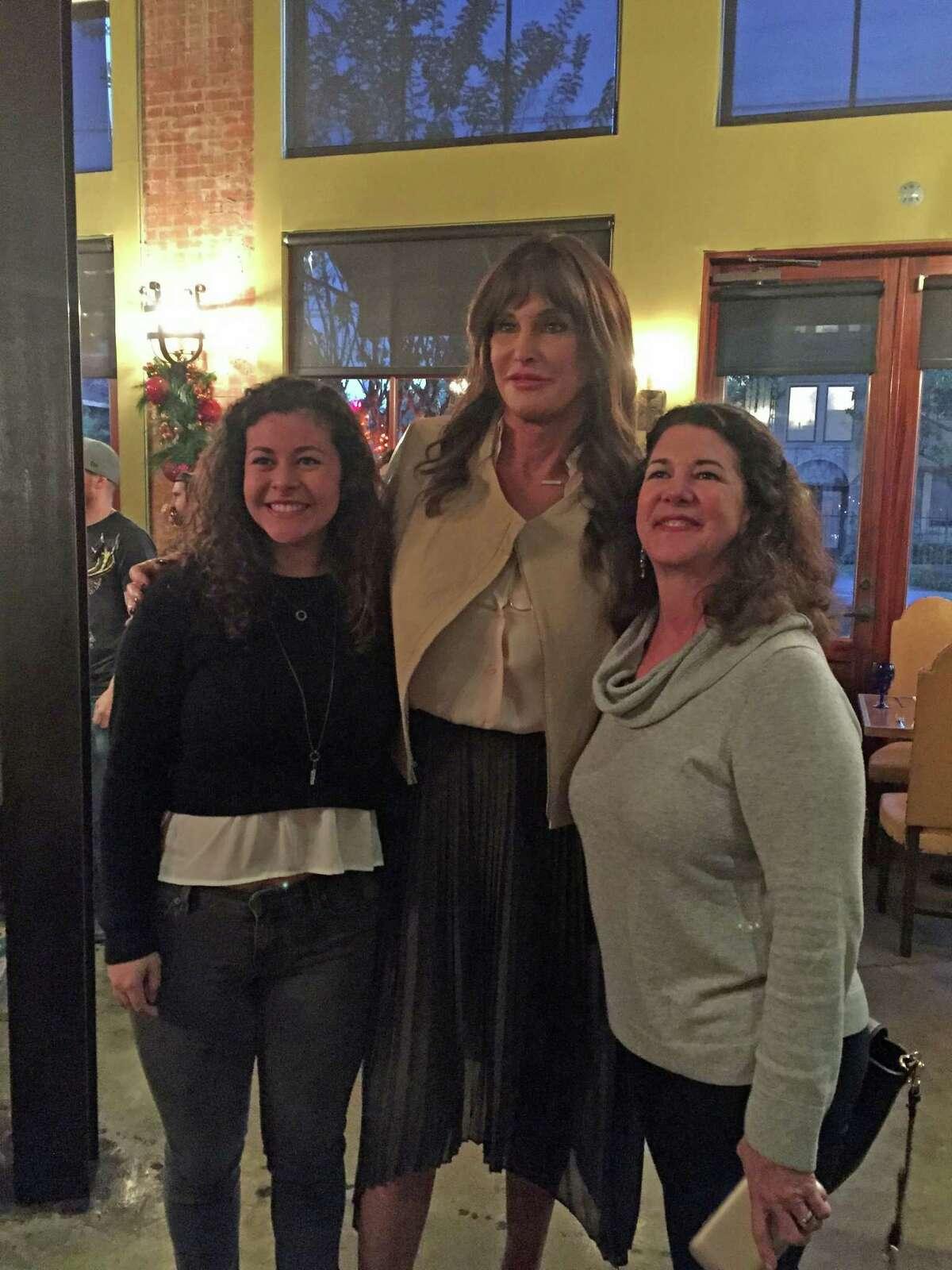 Caitlyn Jenner, in Houston Thursday, dined at Hugo's.
