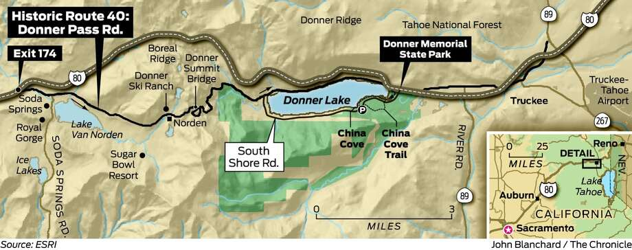 Donner P Road features history, beauty and play - SFGate on