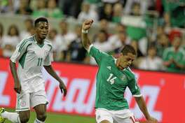 """Javier """"El Chicharito"""" Hernandez will play at least one game at NRG Stadium as part of Copa America and possibly a second if Mexico advances to the semifinal that Houston will host."""