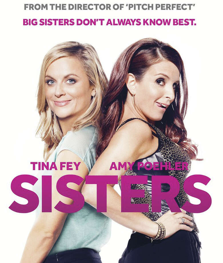 """Amy Poehler and Tina Fey star in the new movie comedy, """"Sisters."""" Photo: Contributed / Contributed Photo / Westport News"""