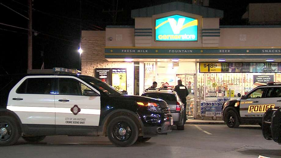 Police are searching for a man who robbed a Valero Corner Store on the South Side Thursday night. Photo: 21 Pro Video