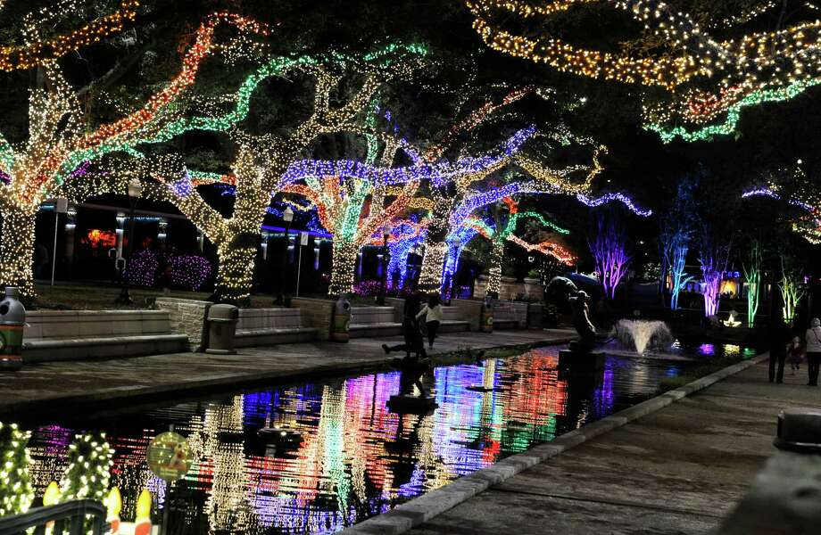 What:Zoo Lights at the Houston ZooActivities:There will be twinkling lights, hot chocolate, carolers, family fun activities and cool animals to check out.When:Starting Friday, Nov. 18 - January 15 nightly. The zoo will close at 5 p.m. then will reopen at 6 p.m. for Zoo Light ticket holders. On weeknights the zoo closes at 10 p.m. and 11 p.m. on weekends.Where:Houston ZooCost:Tickets start at $15. More information:houstonzoo.org Photo: Pat Sullivan, STF / AP