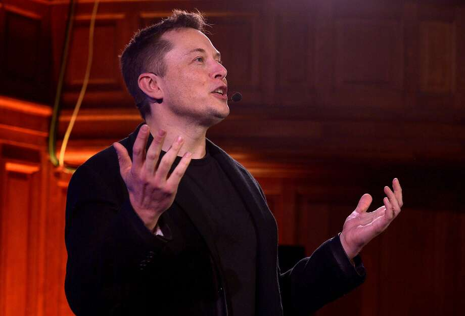 Tesla CEO Elon Musk is among proponents of the option for the state to require Volkswagen to sell more electric cars. Photo: Eric Piermont, AFP / Getty Images