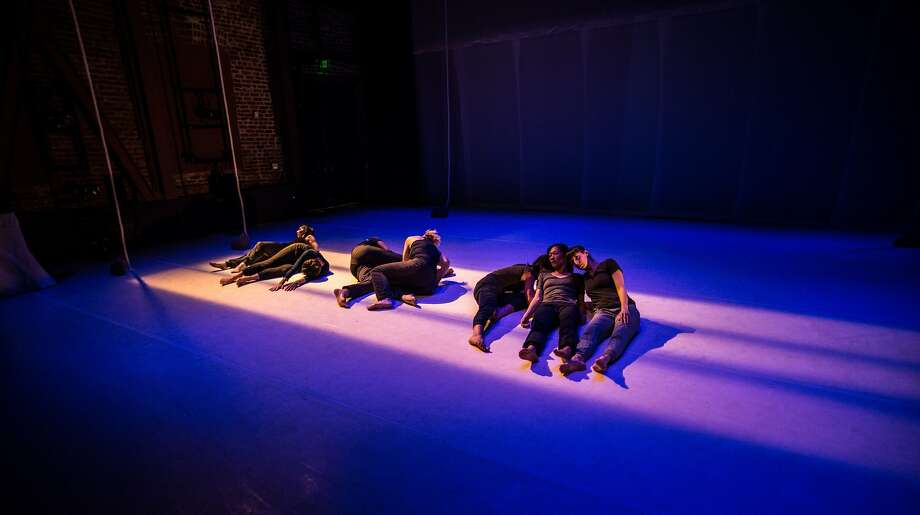 "World premiere of Gerald Casel's ""Splinters in Our Ankles"" at ODC Theater. Photo: Robbie Sweeny"