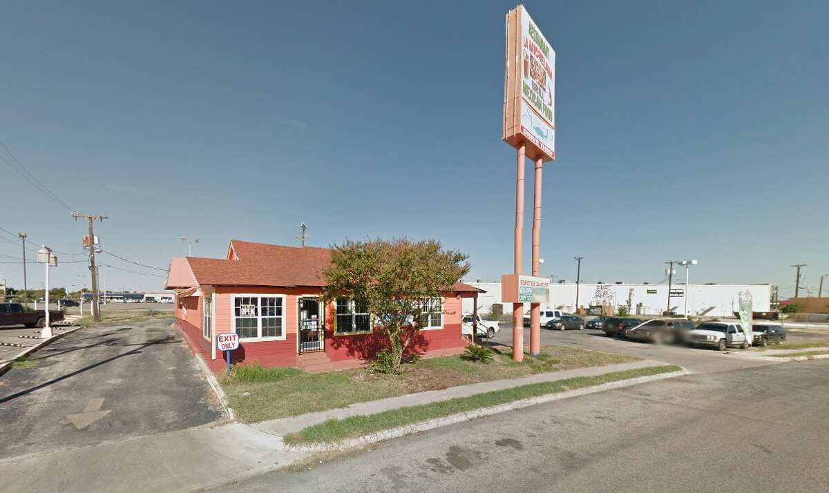 La Michelada Grill: 2623 Rockgate St., San Antonio, Texas 78227Date: 11/03/2016 Score: 73Highlights: Dead and live roaches were seen on floors and walls throughout the establishment, insect bait stations were placed on prep tables and near food, foods in the walk-in cooler had expiration dates that have exceed 7 days, employees did not wash hands in between changing tasks, mold seen in the ice machine.