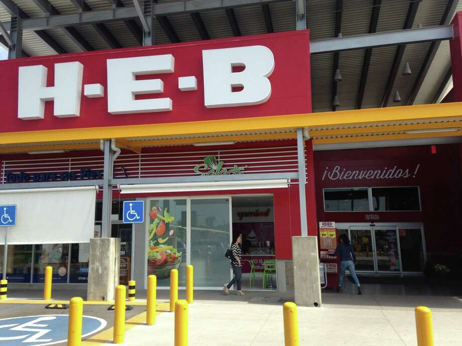 The entrance to the H-E-B in the Mexican state of Aguascalientes. The San Antonio-based store only has locations in two parts of the world: Mexico and Texas. Take a look inside an H-E-B south of the border. Photo: Matt Levin
