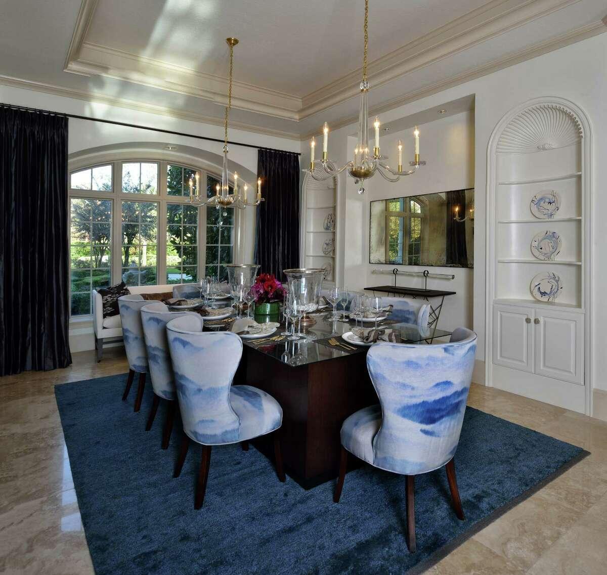 Dining room designed by Jillian O'Neill