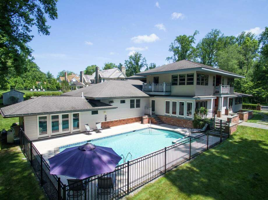 The property at 15 High Point Road is on the market for $1,849,000. The was built in 1956, and in 2002 most of the home was torn down and rebuilt. Photo: Contributed Photos / Westport News