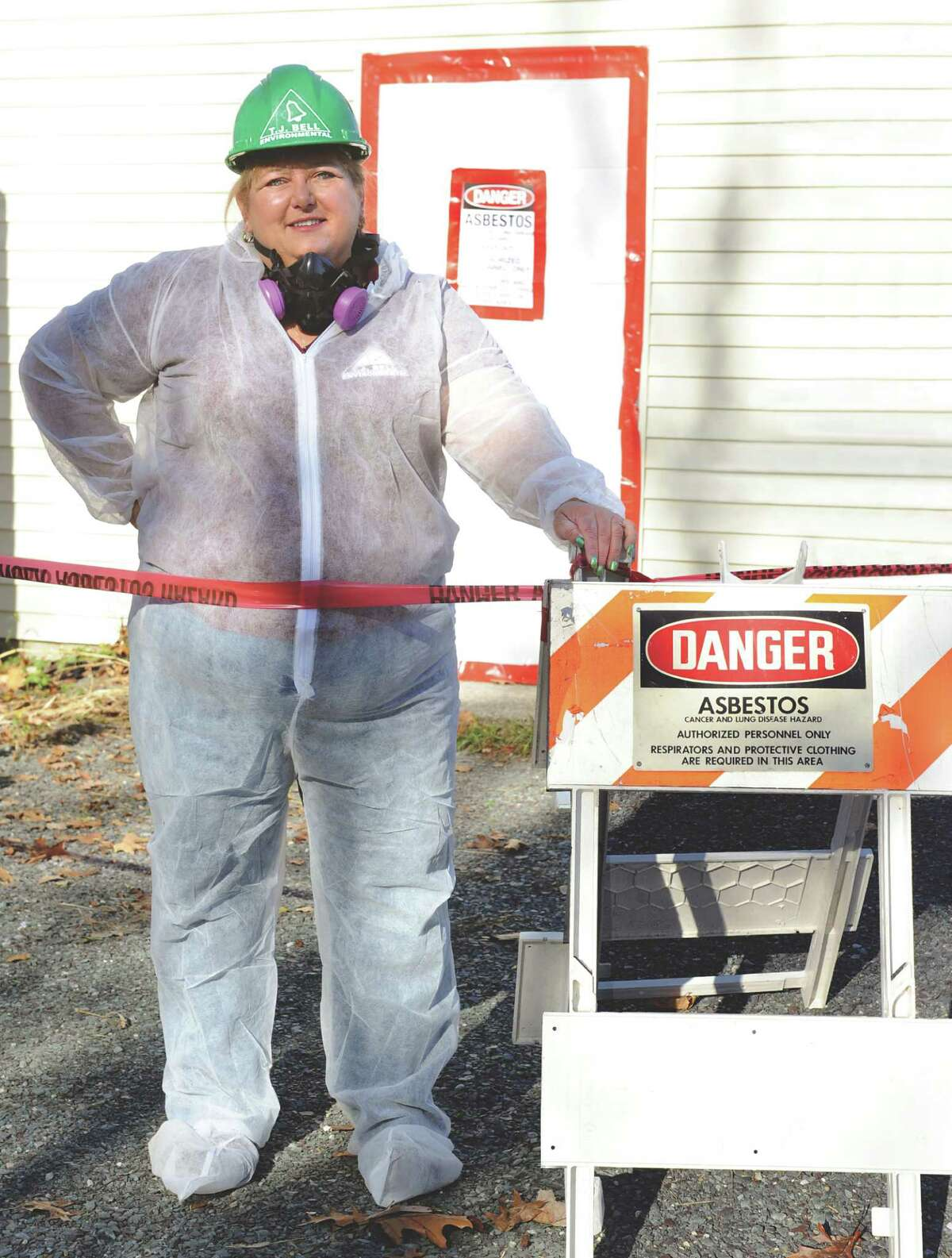 Suzanne Bell owner of T.J. Bell Environmental, on Tuesday, Nov. 17, 2015, in Averill Park, N.Y. (Cindy Schultz / Times Union)