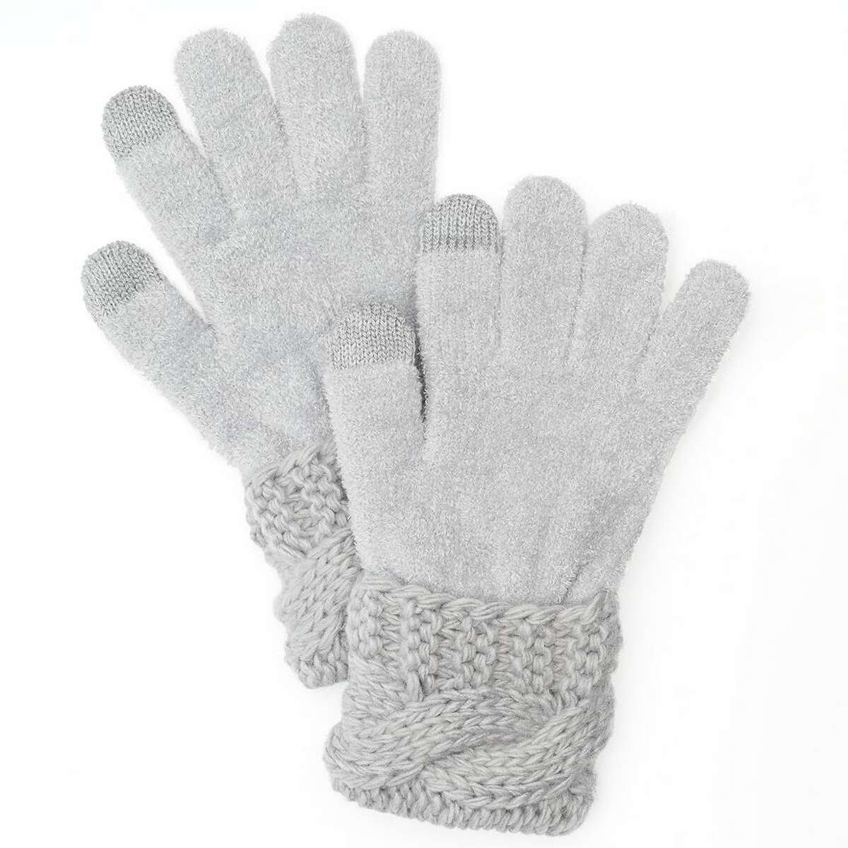 Microchenille Tech Gloves, Sonoma life + style. $24 When in constant need to communicate with your boss, coworkers, friends, and family, your hands are always out as your fingers type away on your phone. But with these gloves your fingers don't have to turn to ice this winter. The gloves allow your hands to stay warm while using a touch screen. That means you don't have to postpone making calls or sending texts just because you have gloves on, and you can still have fun using apps and taking pictures. To buy: kohls.com