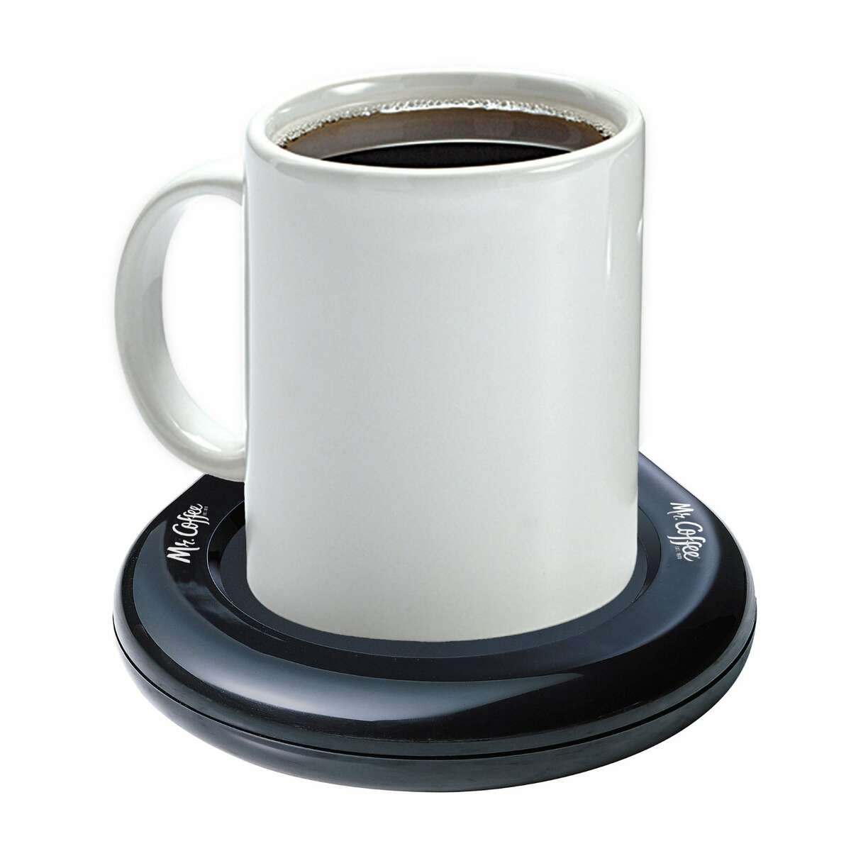 Mug Warmer, Mr.Coffee. $9.99 What better way to keep you feeling warm than with an everlasting hot drink? This mug warmer allows you to enjoy your hot coffee, tea, or cocoa for as long as you want without it going cold. To buy: mrcoffee.com