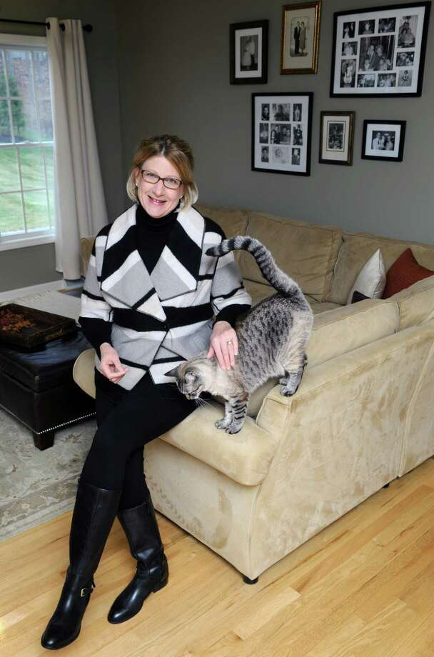 Julie Purdy a life coach on Thursday Nov. 19, 2015 in Cohoes, N.Y.  (Michael P. Farrell/Times Union) Photo: Michael P. Farrell / 10034309A
