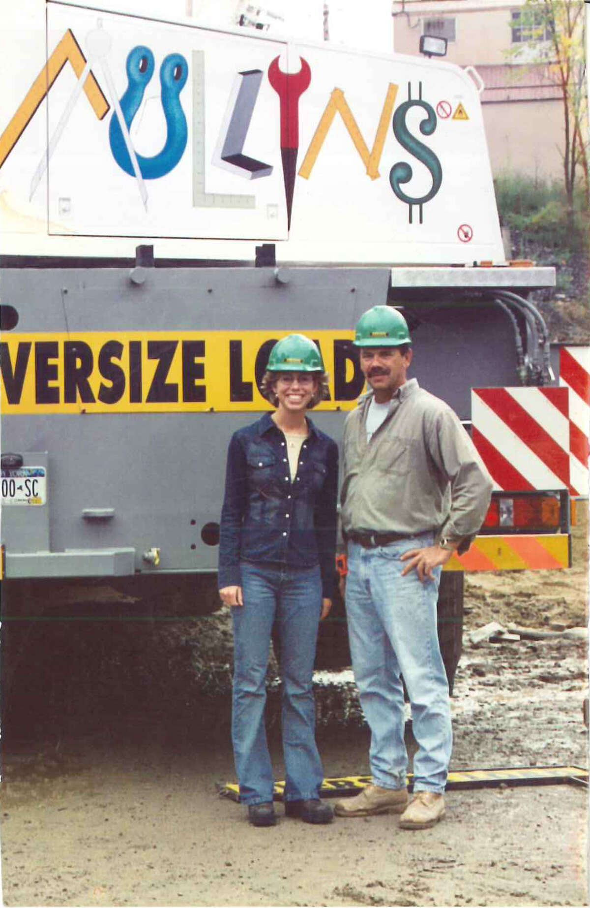 Stefanie Wiley with her father, the former owner of the business. (Courtesy Stefanie Wiley)