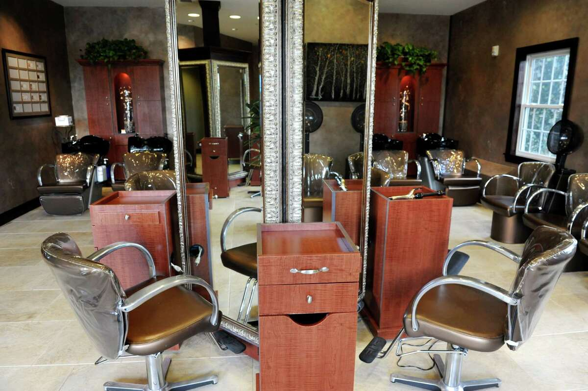 The hair salon on Wednesday, Aug. 12, 2015, at Kimberly's A Day Spa in Latham, N.Y. (Cindy Schultz / Times Union)