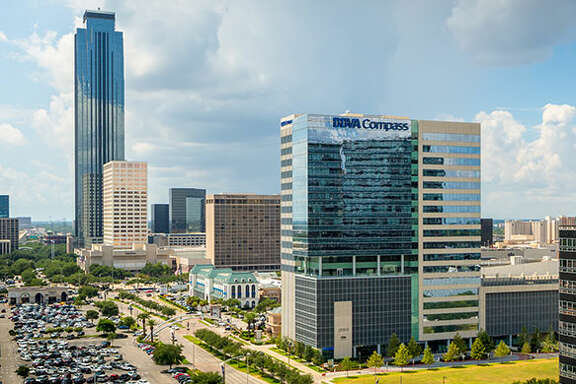 Big deals in the Uptown area included a Spain-based investor's purchase of BBVA Compass Plaza, a 22-story office building at 2200 Post Oak Blvd.