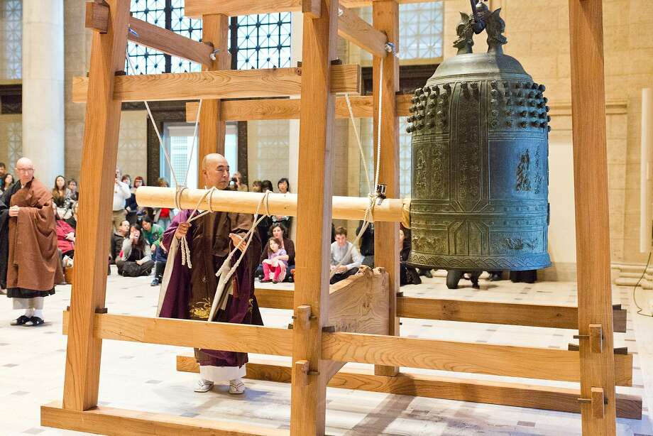 The Asian Art Museum is slated to host its annual Japanese New Year Bell-ringing Ceremony on Thursday, Dec. 31. Photo: Gaby Esensten, The Asian Art Museum