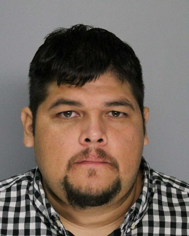 Reynaldo Ramirez, 37, of Corpus Christi, has played Santa for 15 years.