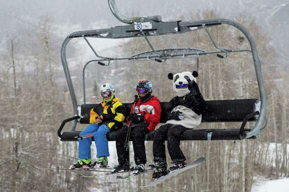 This year's Kids Ski Free package at Snowmass Resort is designed for families who plan to buy a lodging package. If they rent skis for their kids at Four Mountain Sports in Snowmass Village, the kids get a free lift ticket for every day of the rental.