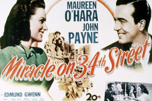 2of 30a poster for miracle on 34th street directed by george seaton and starring maureen ohara and john payne 1947 - Best Christmas Films