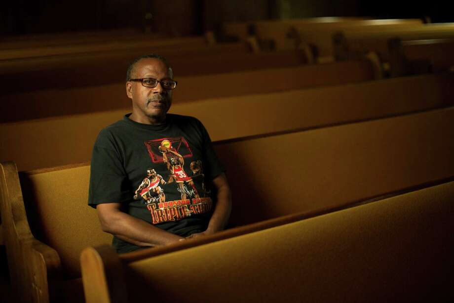 Four generations of Floyd Johnson's family lived in Shady Acres, but it finally become too expensive to stay. He still comes back to the neighborhood to attend church, at Wayman Chapel AME. Photo: Marie D. De Jesus, Houston Chronicle / © 2015 Houston Chronicle