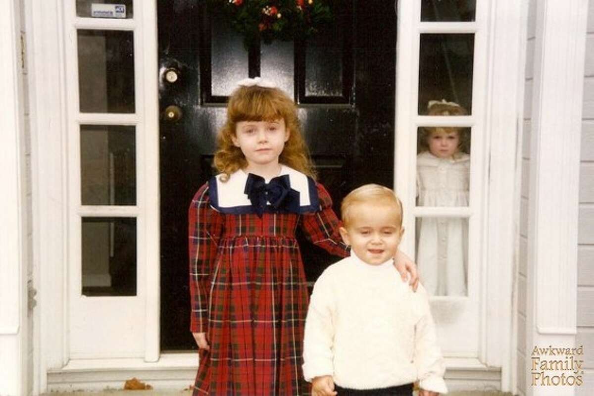 The exclusion: She wasn't going down without a fight. Get more holiday laughs at Awkward Family Photos.