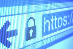 Consumers should check the Web address to make sure it begins with https. The s denotes a secure website.