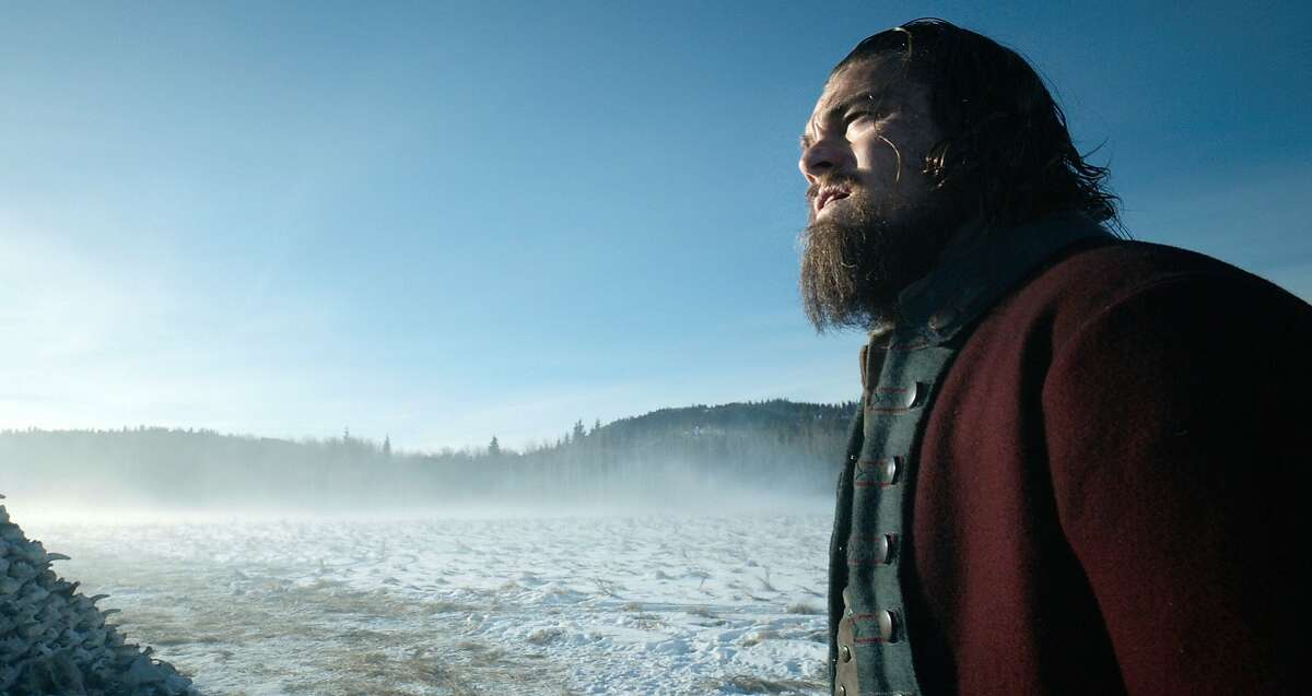 """This photo provided by Twentieth Century Fox shows, Leonardo DiCaprio in a scene from the film, """"The Revenant."""" (Twentieth Century Fox via AP)"""