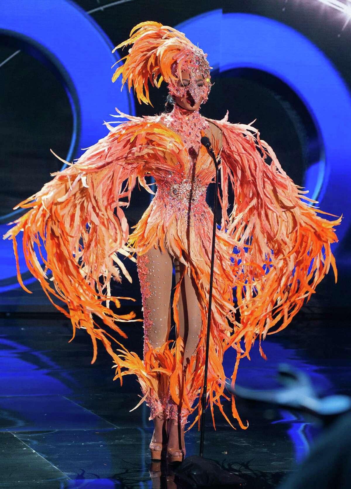 Whitney Houston A. Shikongo, Miss Angola