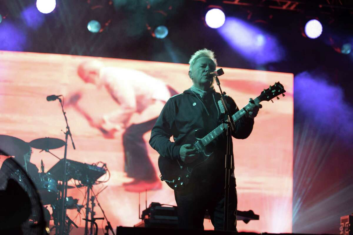 """Best Feelings of Nostalgia: New Order returns The '80s synthpop legends played Houston for the first time since an April 1989 performance. The set featured new songs from their 2015 album """"Music Complete."""" But the crowd all anticipated their opportunity to belt out the hits like """"True Faith,"""" """"Bizarre Love Triangle"""" and closing song """"Blue Monday."""""""