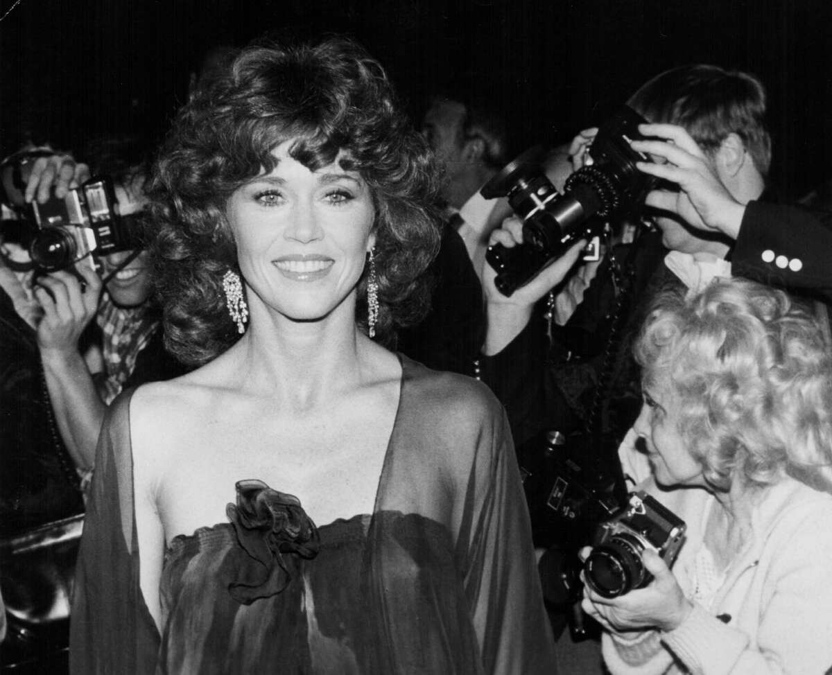 Jane Fonda, born Dec. 21, 1937, is one of the most accomplished actresses in U.S. screen history, with two Oscars, seven Golden Globes and an Emmy. She is also a polarizing figure, with her many years of political activism, three high-profile marriages and secondary career as a fitness guru. Here, she is seen attending the premiere of