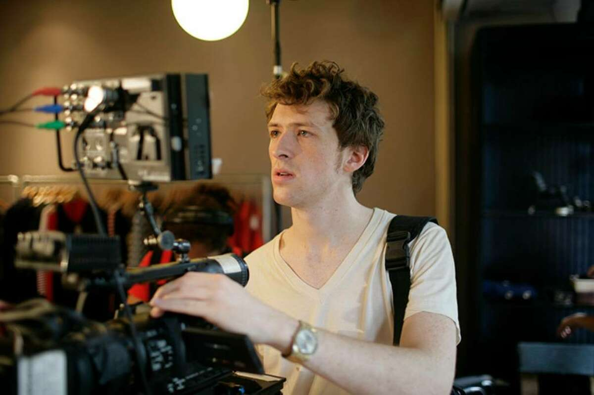 """Film director Daryl Wein, a Westport native, at work on his new film, """"Breaking Upwards."""" Wein's film has won numerous film festival awards and will begin a week-long run in New York on April 2 at the IFC Center in downtown Manhattan and on April 30 at Garden Cinema in Norwalk."""