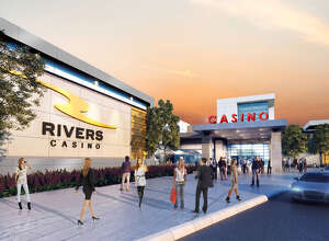 Here's the latest design of the Schenectady Rovers Casino, with a view of the entrance.