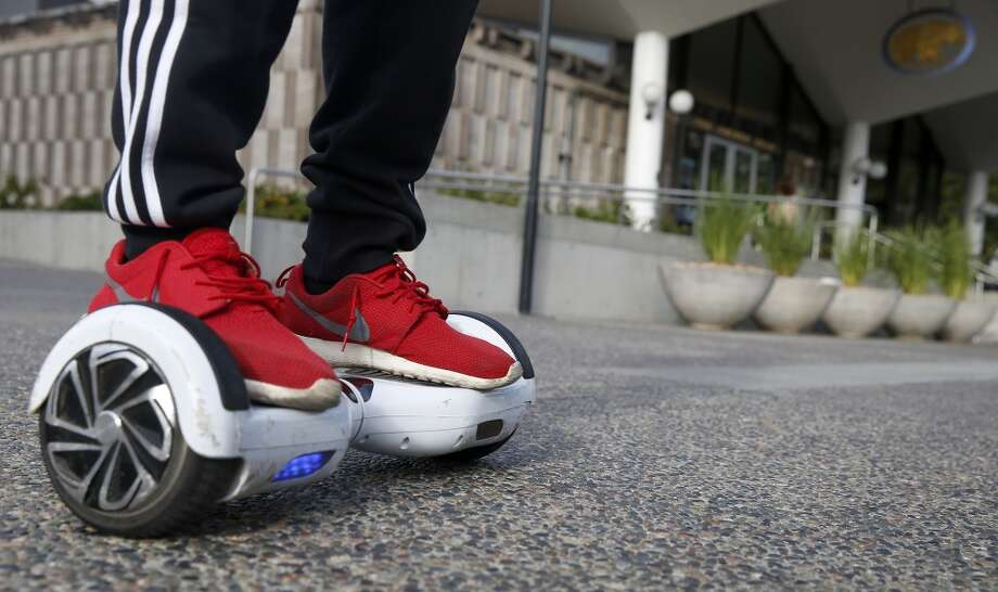 Your Hoverboard too.  Photo: The Chronicle