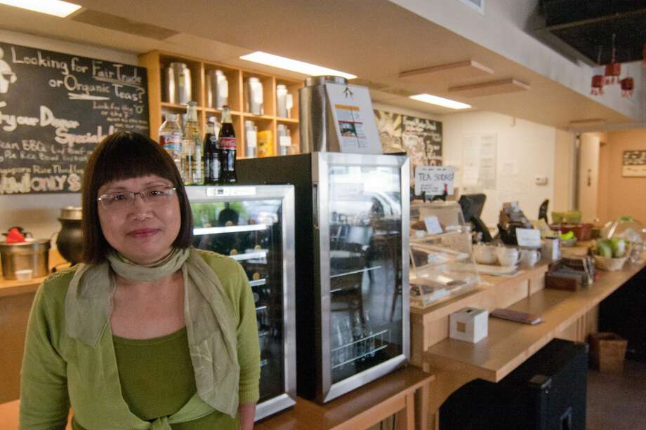 Connie Lacobie, owner of Te House of Tea, in 2010. Photo: R. Clayton McKee, For The Chronicle / Freelance