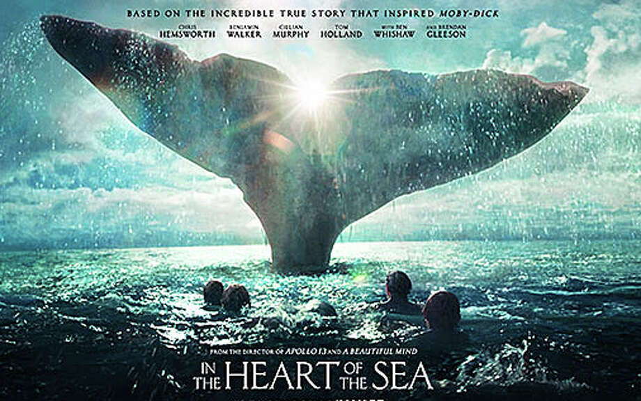 """In the Heart of the Sea"" is the new movie based on the real-life whaling account that inspired ""Moby Dick."" Photo: Contributed / Contributed Photo / Westport News"