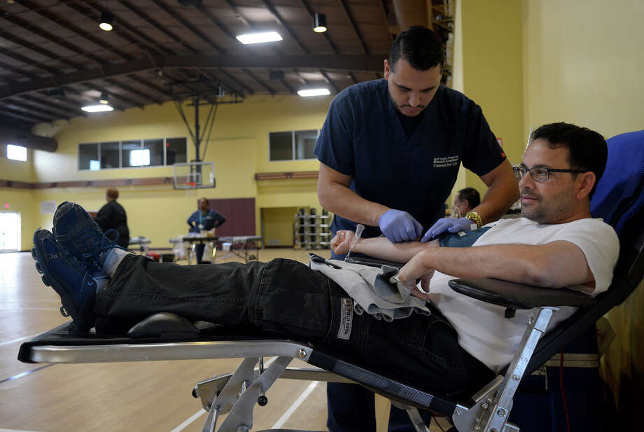 Local blood donation centers will be among the first in the nation to screen blood for the Zika virus. Photo: Jerry Baker, Freelance