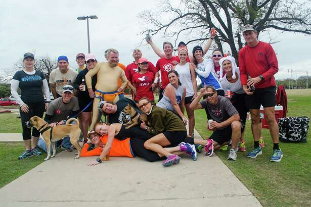 Four beers, one mile that was the order for the annual Beer Mile run at Olmos Park. Run a quarter mile, chug a beer. Here is a look at the sudsy race.